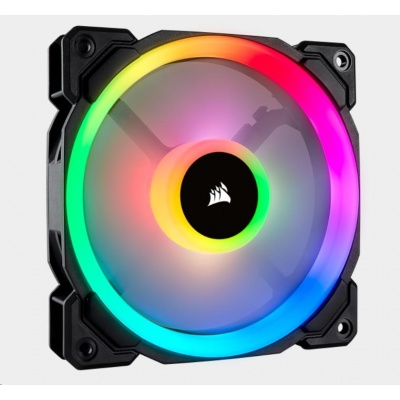 CORSAIR ventilátor LL120 RGB LED, 1x 120mm, 24.8dBA