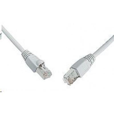 Solarix Patch kabel CAT5E SFTP PVC 5m šedý snag-proof C5E-315GY-5MB