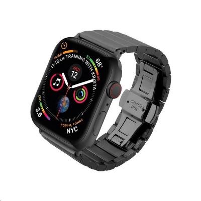 COTEetCI ocelový pásek pro Apple Watch 42 / 44mm černý