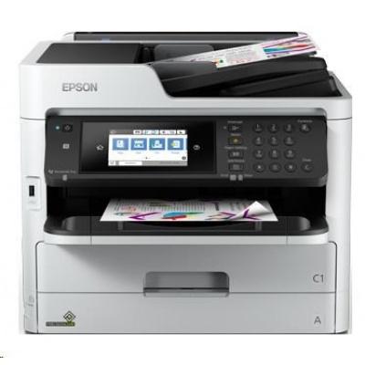EPSON tiskárna ink WorkForce Pro WF-C5790DWF , 4v1, A4, 34ppm, Ethernet, WiFi (Direct), Duplex, NFC,3 roky OSS po reg.