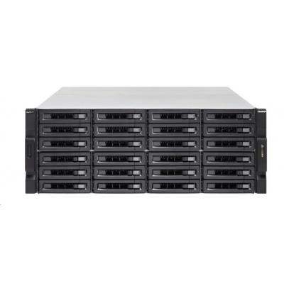 QNAP TS-h2483XU-RP-E2236-128G(6C/Xenon E-2236/3,4-4,8GHz/128GBRAM/24xSATA/4xGbE/2xSFP+/6xUSB3.1/5xPCIe/RP)