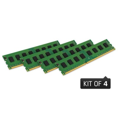 DIMM DDR4 16GB 2400MHz ECC Reg, CL17, KINGSTON ValueRAM (Kit of 4) 1Rx8