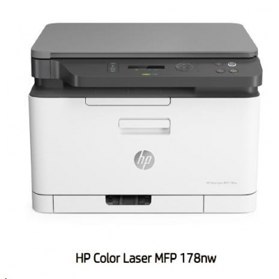 HP Color Laser 178NW (A4,18/4 ppm, USB 2.0, Ethernet, Wi-Fi, Print/Scan/Copy)