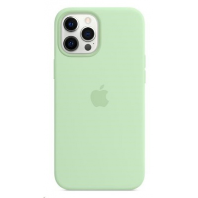 Apple iPhone 12 Pro Max Silicone Case with MagSafe - Pistachio