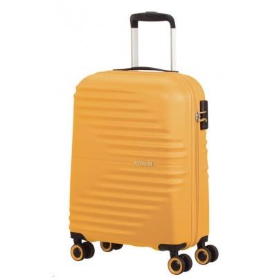 American Tourister WaveTwister SPINNER 55/20 TSA Sunset Yellow