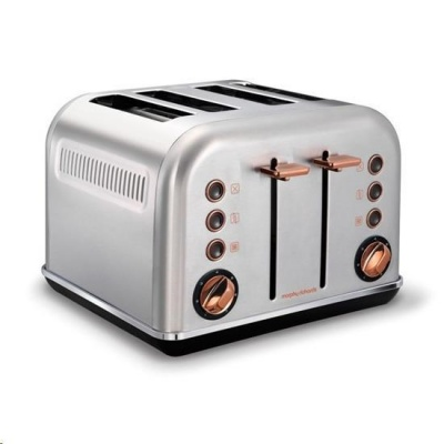 MORPHY RICHARDS Accents Rosegold Brushed 4S topinkovač