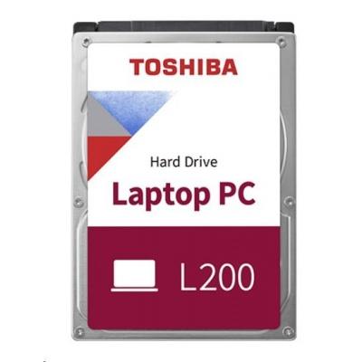 "TOSHIBA HDD L200 Mobile (CMR) 1TB, SATA III, 5400 rpm, 8MB cache, 2,5"", 9,5mm, BULK"