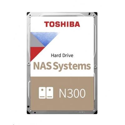 "TOSHIBA HDD N300 NAS 6TB, SATA III, 7200 rpm, 256MB cache, 3,5"", RETAIL"