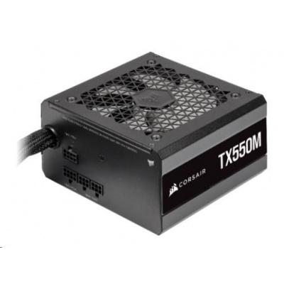 CORSAIR zdroj, TX550M-80 PLUS Gold (ATX, 550W, Modular)