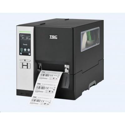 TSC MH340T, 12 dots/mm (300 dpi), display, TSPL-EZ, USB, RS232, BT, Ethernet