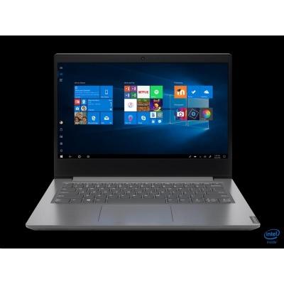 """LENOVO NTB V14-IIL - i5-1035G1@1.0GHz,14"""" FHD,8GB,512SSD,HDMI,čt.pk,cam,Intel UHD,W10H,2r carryin,šedá"""